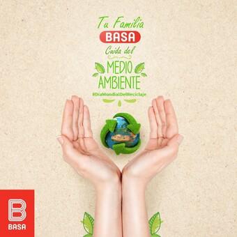 Hoy reafirmamos nuestro compromiso por el planeta, promoviendo el reciclaje y el uso de envases reutilizables. Cuidemos nuestro HOGAR, cuidemos nuestro planeta. #DíaMundialDelReciclaje ♻️🌎💝 #BuenosConBdeBASA