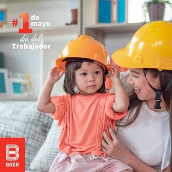 Porque el mejor trabajo empieza en tu hogar, dedicamos este día a los padres que se esfuerzan día a día para formar grandes promesas para el país. 💝 #BuenosConBdeBASA