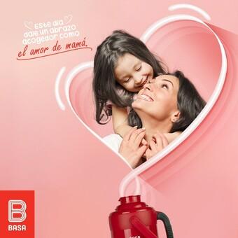 ¡La familia Basa les desea un feliz día a todas las madres! Que el amor se quede en casa 🥰💝 #BuenosConBdeBASA
