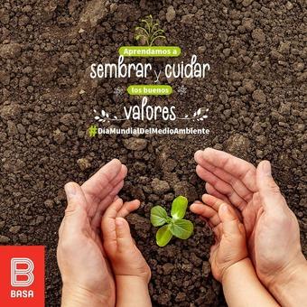 Sigamos transmitiendo los buenos valores a las futuras generaciones para vivir en un mundo mejor. #DíaMundialDelMedioAmbiente 🌍🌱